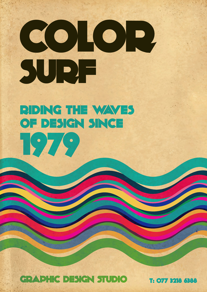 Color Surf | Graphic Design | Poster Design | Derry