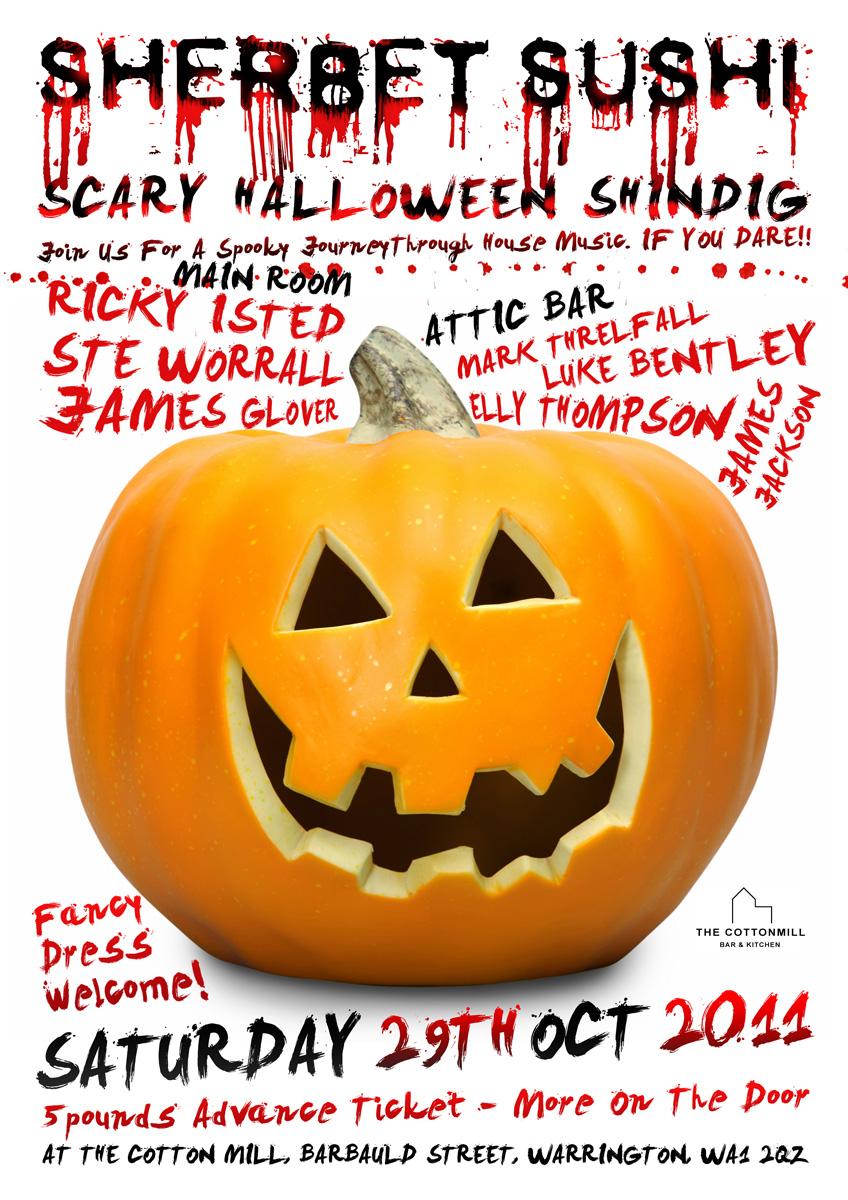 Blank Halloween Flyers Halloween Club Flyer Hallowe