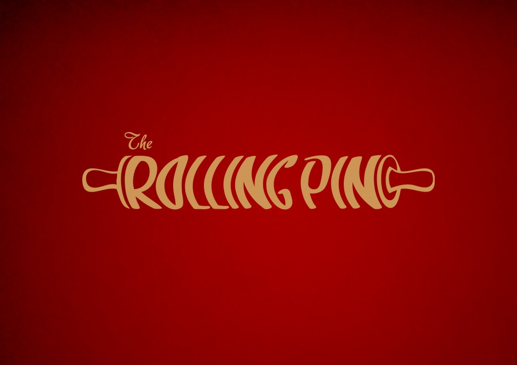 The Rolling Pin Cakes Logo | The Rolling Pin | Logo Design Derry | Logo design Northern Ireland | Cake Company Logo Design