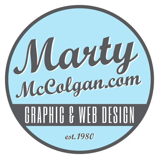 Marty McColgan Graphic and Web Design Derry | Northern Ireland | Logo Design