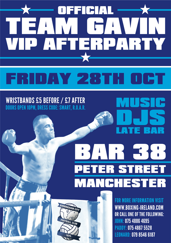 Flyer Design Manchester | Manchester Flyer | Graphic Design | Bar 38 Manchester