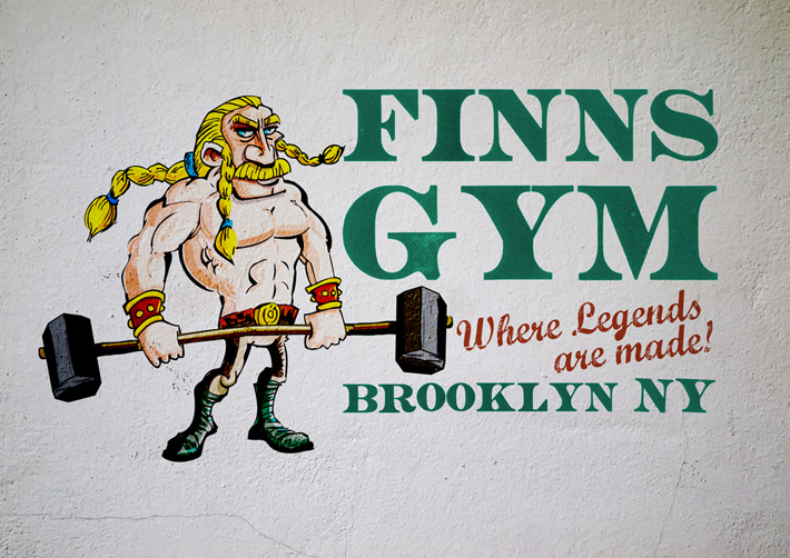 Finns Gym Logo Design | Logo Design New York | new york logo design | gym logo design | finn mccool | giants causeway 