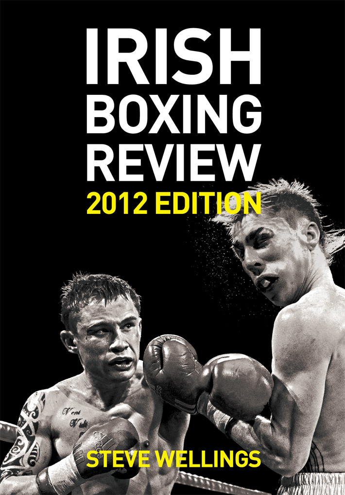book cover design | Irish Boxing Review book Cover Design | boxing book cover design | book cover graphic design