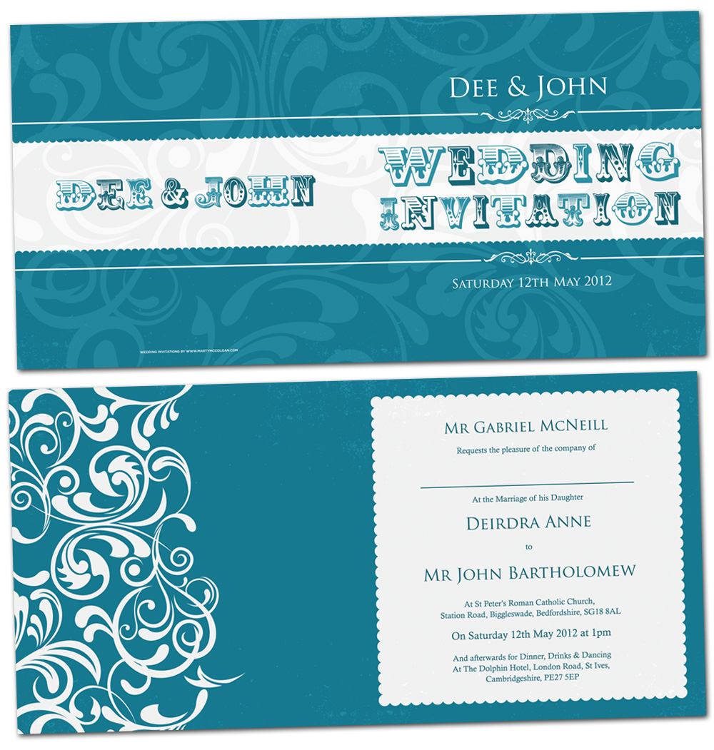 funky wedding invitations | retro wedding invitations | wedding invites northern ireland