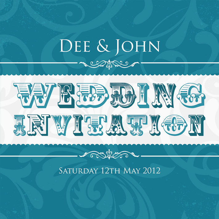 Retro Funky Wedding Invitations | funky wedding invitations northern ireland