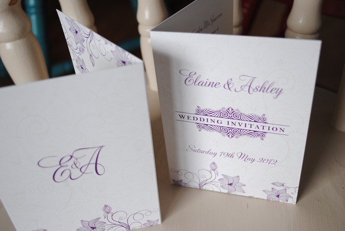 different wedding invitation design northern ireland