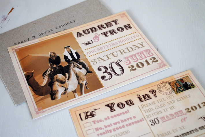 unique wedding invitation designs