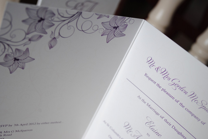 wedding invitations london derry