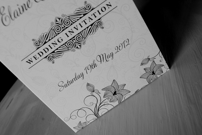 wedding invitations northern ireland