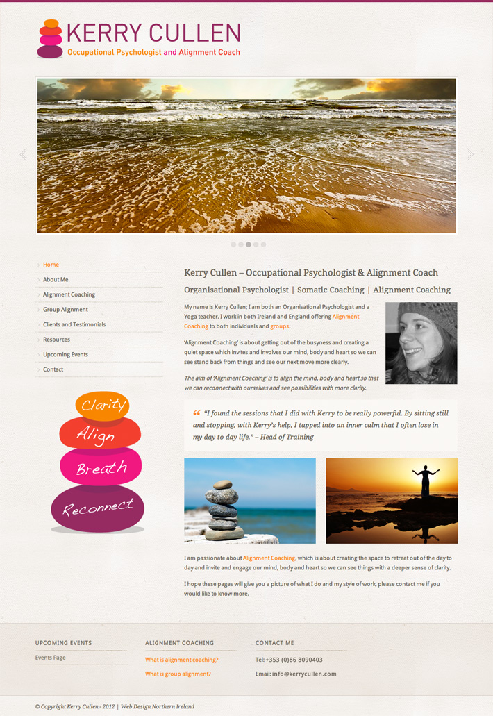 web design donegal | yoga instructor web design | yoga teacher website