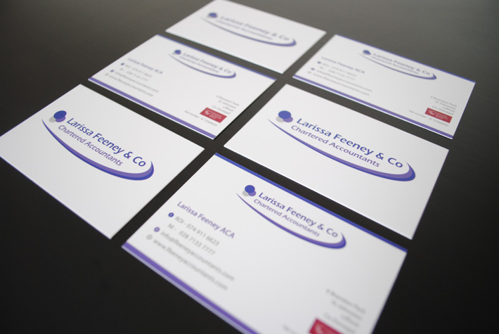 business cards design print northern ireland