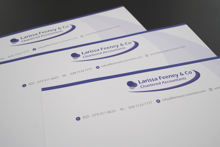 letterheads business stationery northern ireland