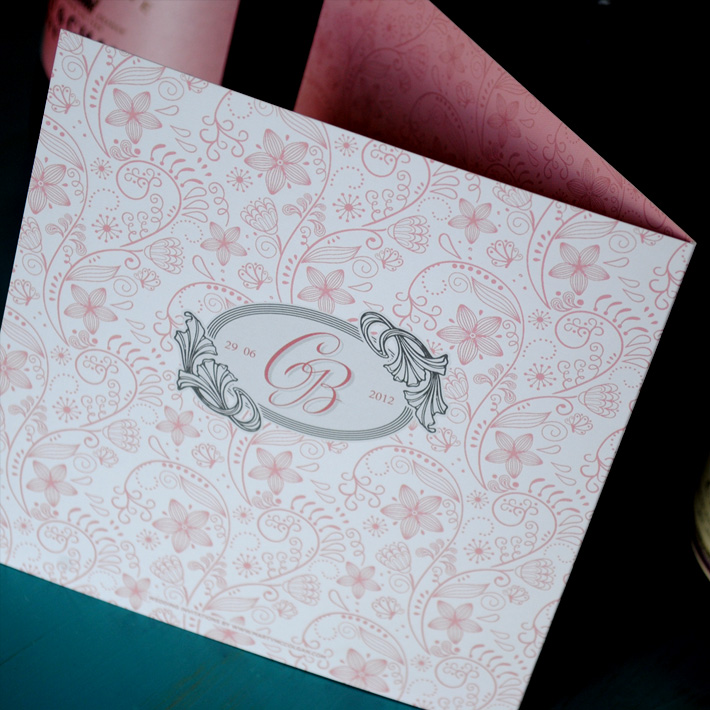 floral wedding invitation designs