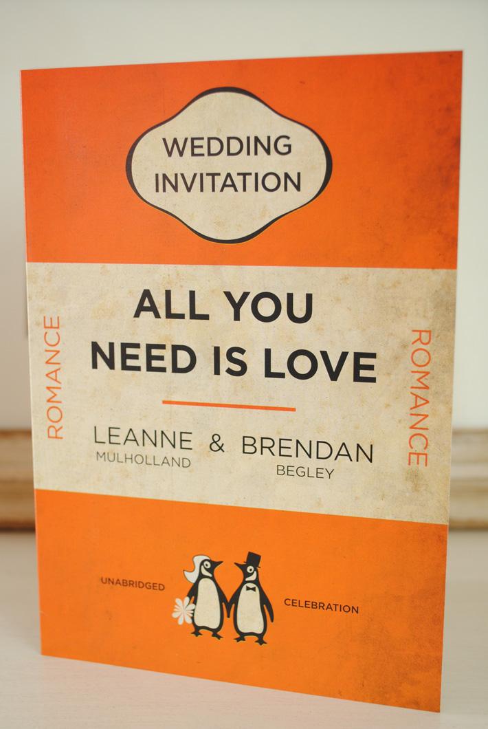 Vintage orange penguin mixed 10 book bundle (1)