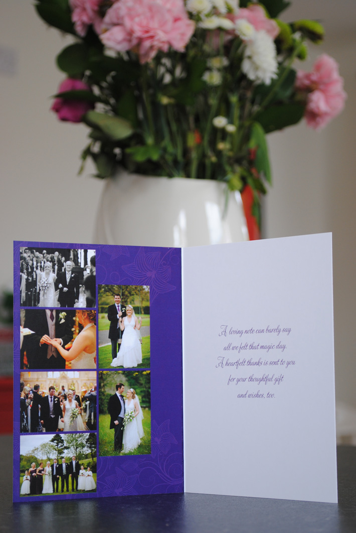 Wedding Thank You Card UK