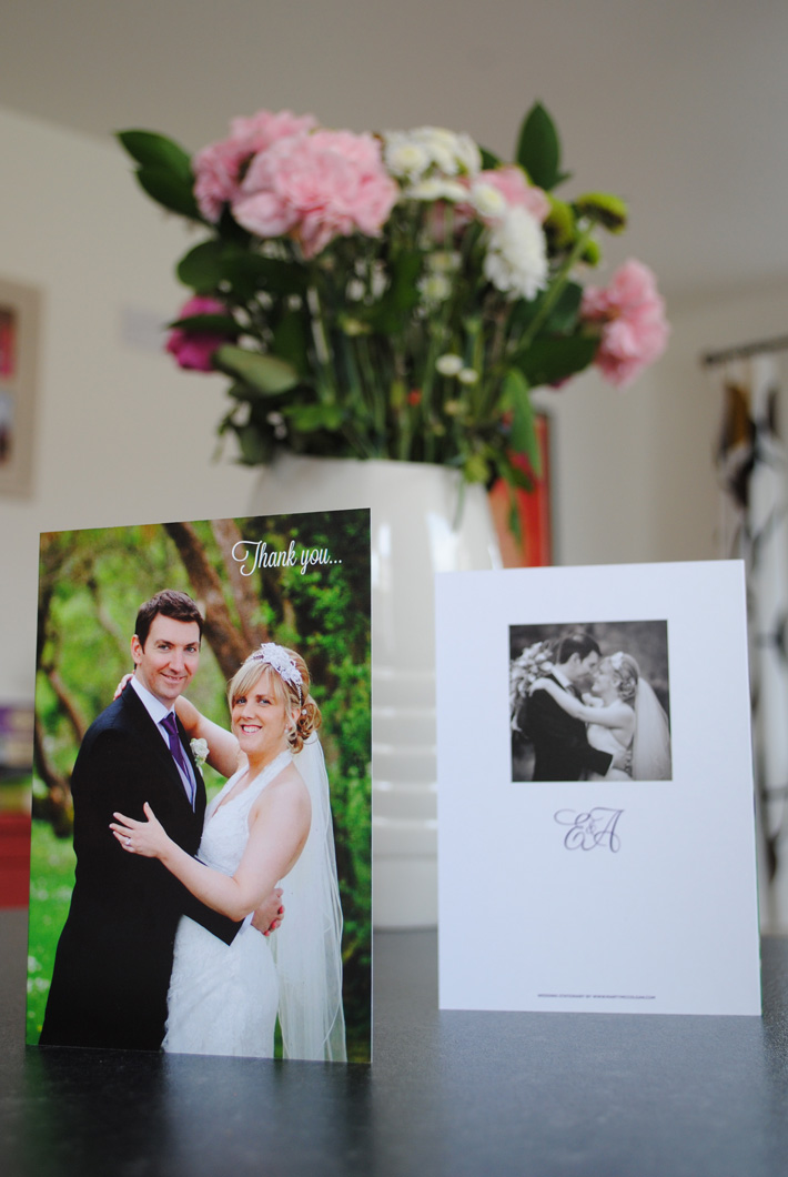 Wedding Thank You Cards UK Ireland