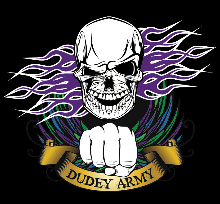 dudey army logo | paul mccloskey boxing logo design