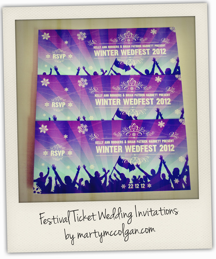 concertticketweddinginvitationsjpg 710 475 – Invitations That Look Like Concert Tickets