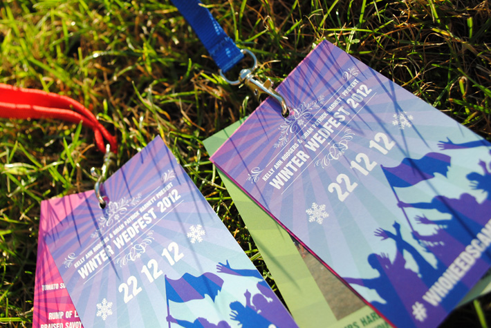 wedding festival neck lanyards | marty mccolgan