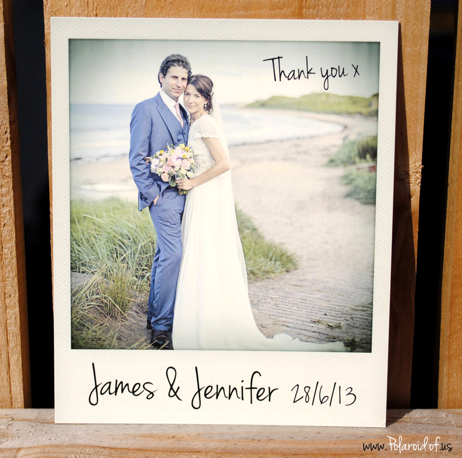 Retro Polaroid Wedding Ideas