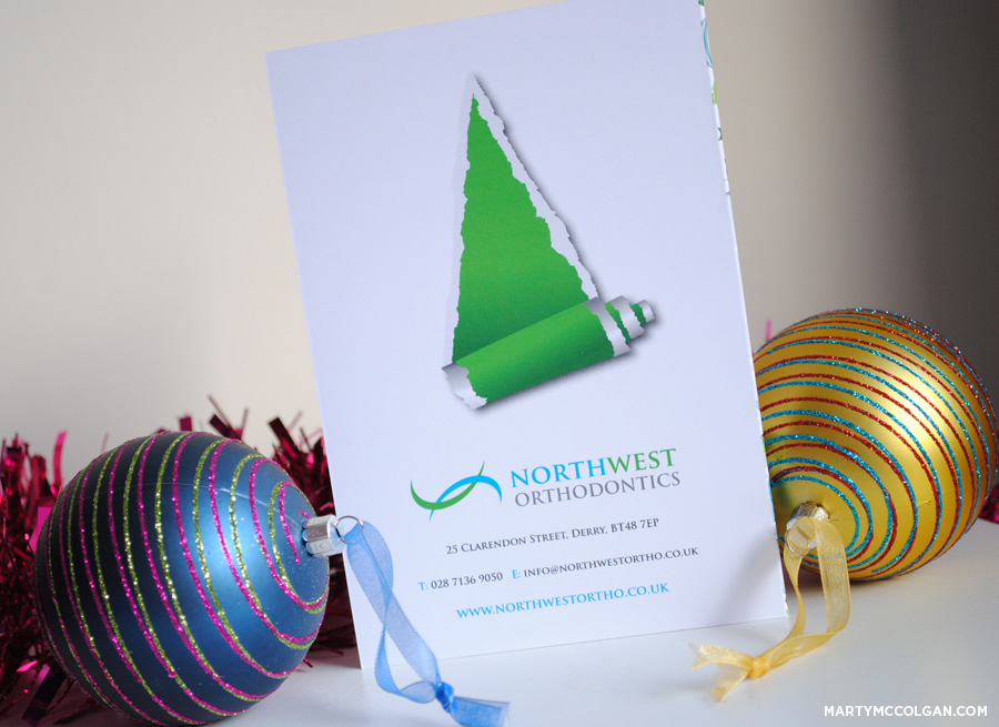 dentists corporate christmas cards