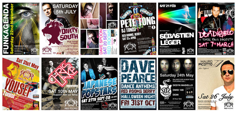 Nightclub Flyer Design Northern Ireland Derry