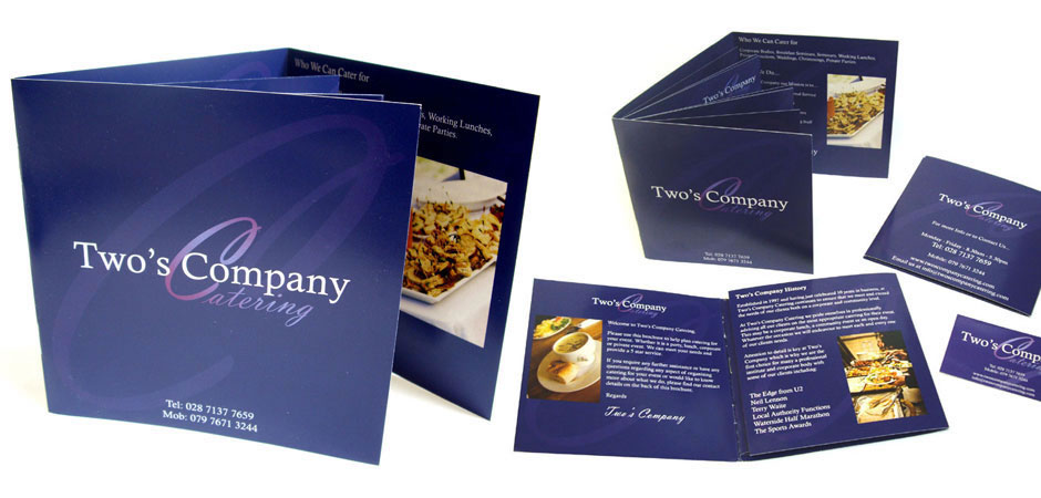 Brochure menu design northern ireland | brochure design derry