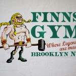 Finns Gym New York Logo Design | Logo Design Northern Ireland