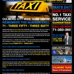 Culmore Taxis Derry, Web Design Derry, Northern Ireland