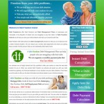 Debts Freedom, Web Design Ireland