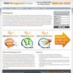 Debt Management Forum, Web Design UK & Ireland
