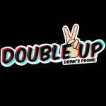 Double Up Club Night Logo Design