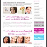 Foyle Dental Spa Website Design (Derry, Northern Ireland)