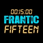 Frantic 15 Club Night Logo Design
