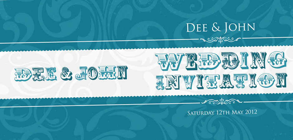 funky wedding invitations northern ireland
