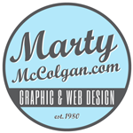Marty McColgan Graphic and Web Design