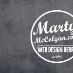 Marty McColgan Web Design Derry Logo Design Derry, Northern Ireland