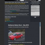 McKeever Motors, Claudy, Web Design Derry, Northern Ireland