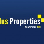 Plus Properties Property Agents Logo Design London, England