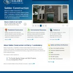 Saldec Construction Web Design Derry, Northern Ireland