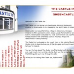 The Castle Inn Greencastle, Website Design (Donegal, Ireland)