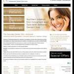The Specialist Dental Clinic, Holywood, Web Design Northern Ireland