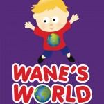 wanes world dungiven | logo design derry northern ireland