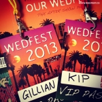 coachella-themed-wedding-invites-wedding-vip-lanyards