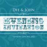 Retro Wedding Invitations Designs