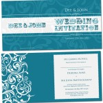 Funky Wedding Invitations