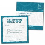 Funky Wedding RSVP Card Designs