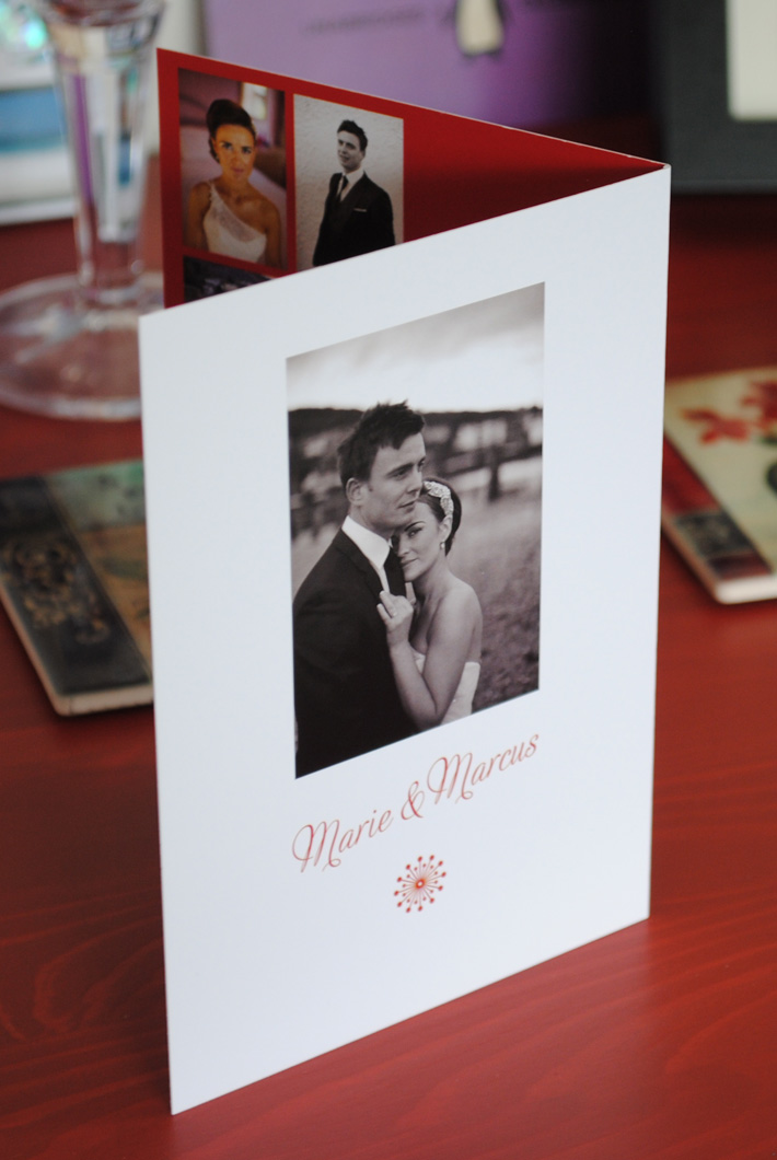 personalised wedding thank you cards marty mccolgan graphic and