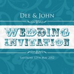 Retro Wedding Invitations, Northern Ireland