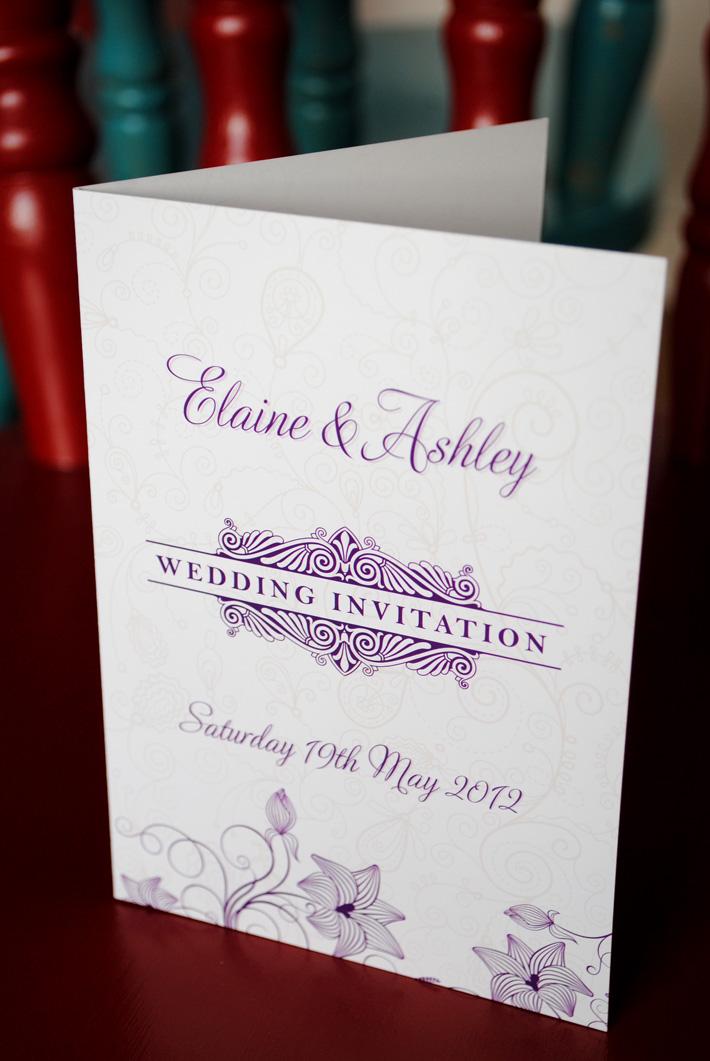 wedding invitations wedding stationery northern ireland With wedding invitation design northern ireland